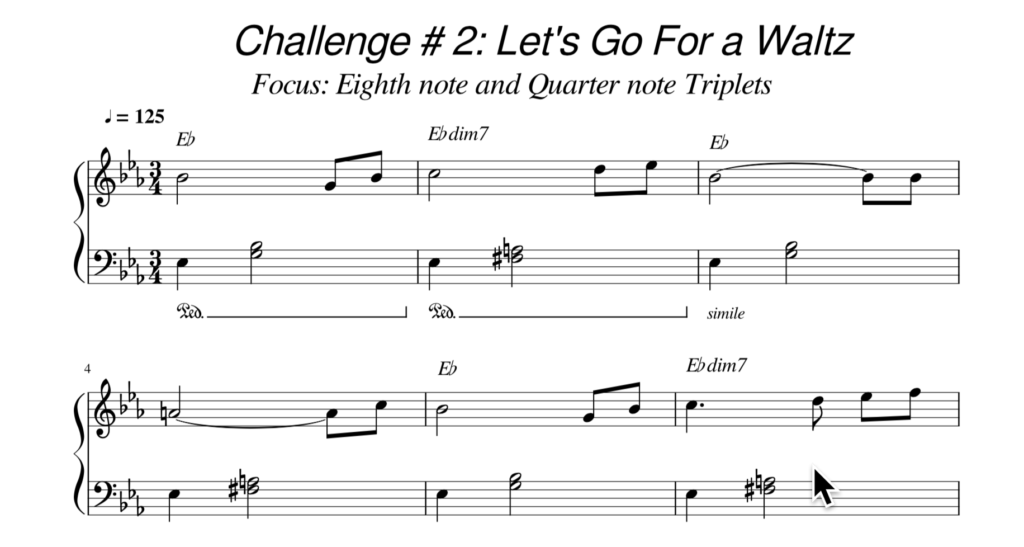 Challenge 2 Let's Go For a Waltz