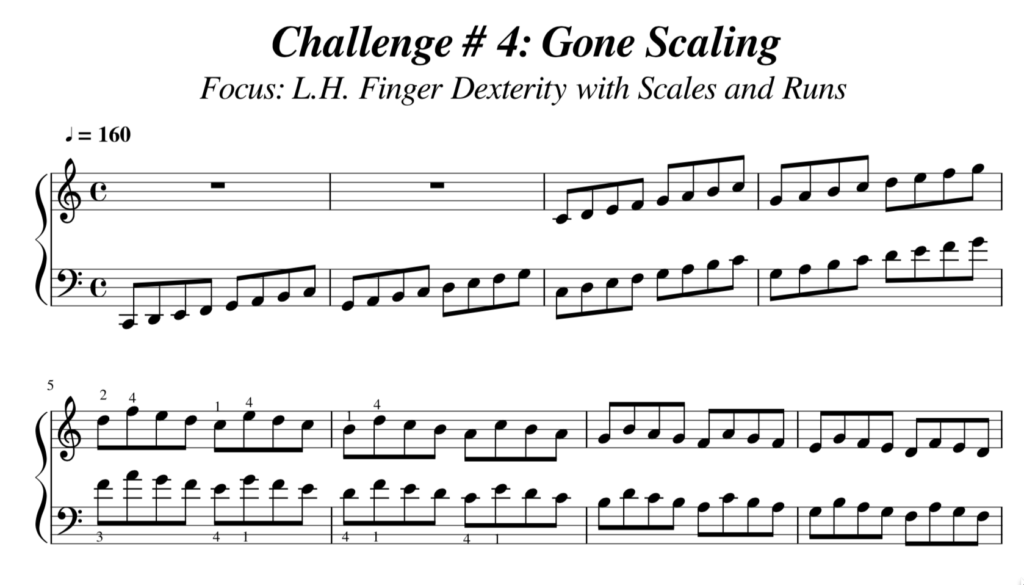 Challenge 4 Gone Scaling